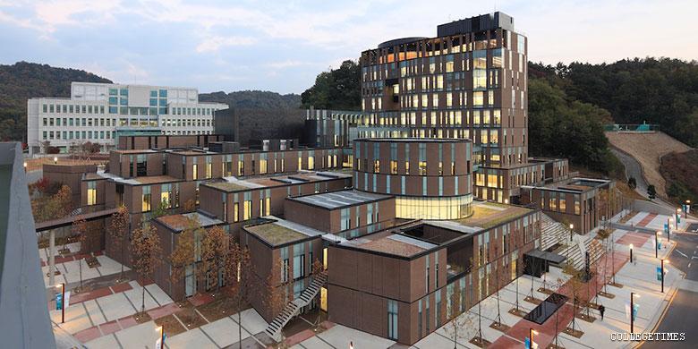 Toàn cảnh trường đại học Daejeon Hàn Quốc