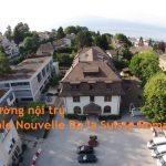 Du họ THPT tại trường nội trú Ecole Nouvelle De la Suisse Romande