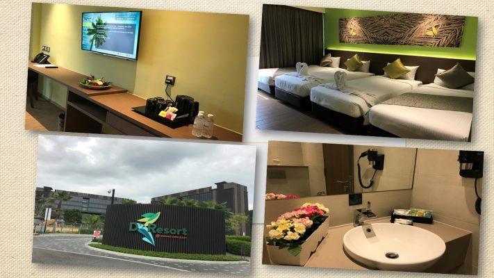 Du học hè Singapore 2018 - cơ sở vật chất tại Downtown East Resort